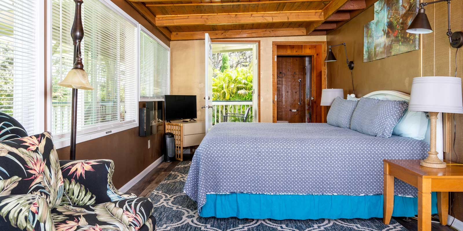 Rainforest View from Bed
